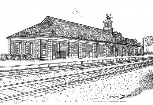 Barrington Train Depot