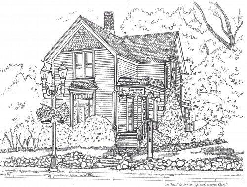 The Kincaid home on Main Street