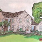 Chicago-Suburb-Fieldstone-home