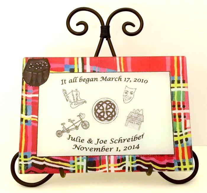Platter Wedding Gift