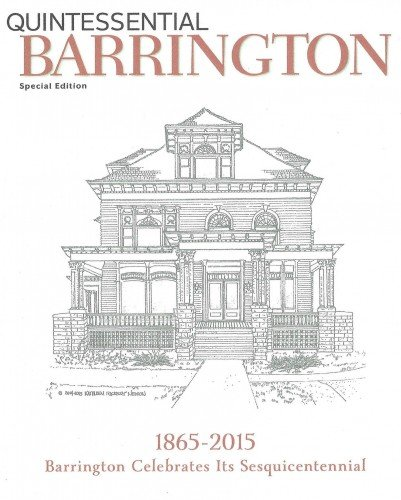 Barrington White House illustration by Kathleen Nelson.