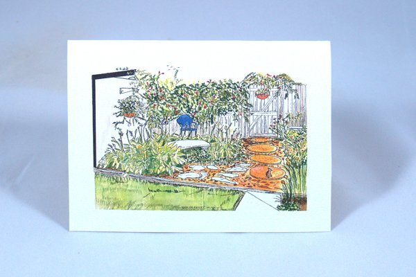 Kathy's Garden note card