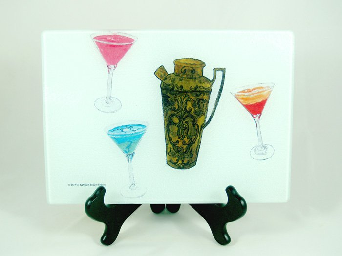 Vintage Cocktails With Shaker