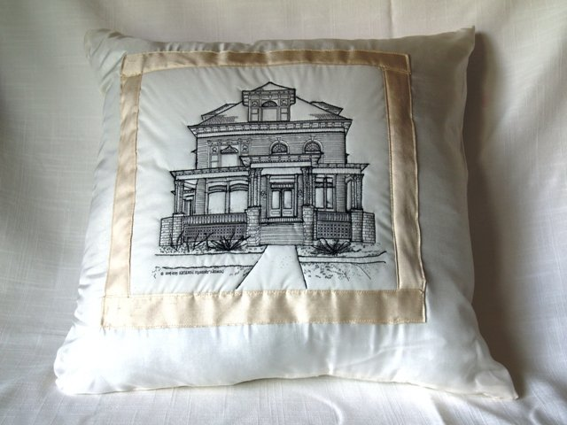 White House Barrington IL pillow